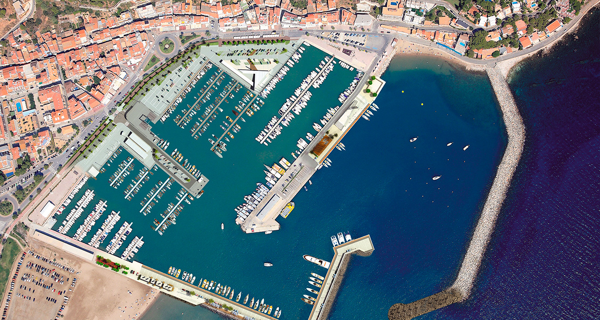 Facilities and services of L'Estartit harbour