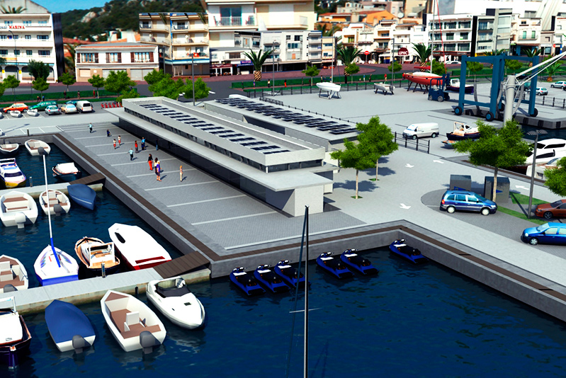 Travaux et nouvelle concession du Port de l'Estartit Phase 2_01