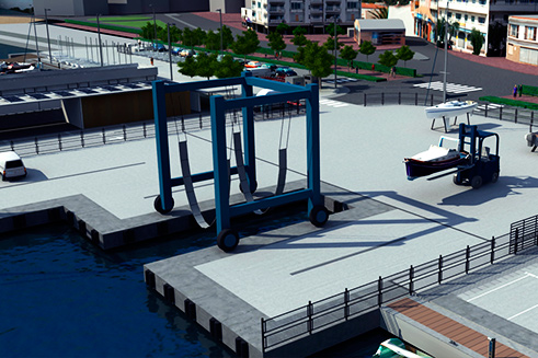 Travaux et nouvelle concession du Port de l'Estartit Phase 2_03