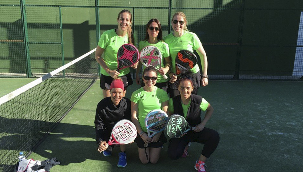 equip femeni de padel lliga catalana