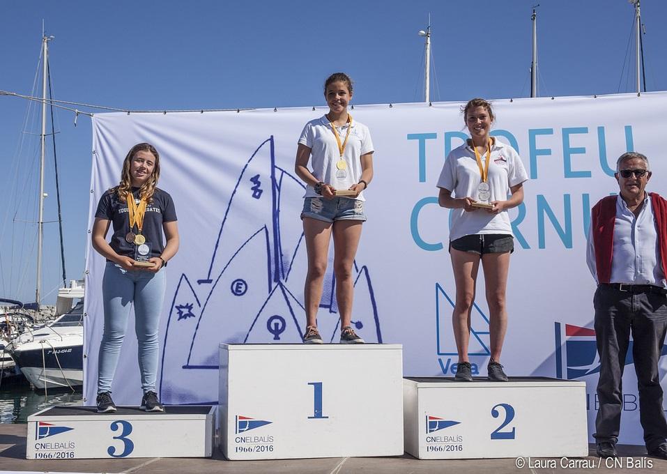 Campionat_Catalunya_classe_europe_club_nautic_balis_podi_femeni