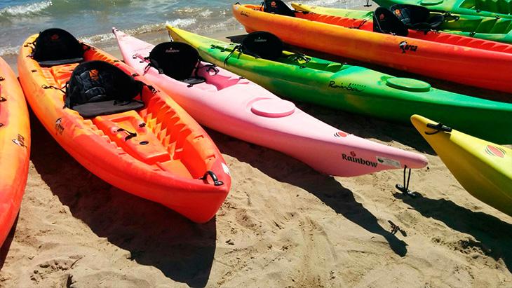 Lloguer de kayaks a l'Estartit - Costa Brava - Club Nàutic Estartit