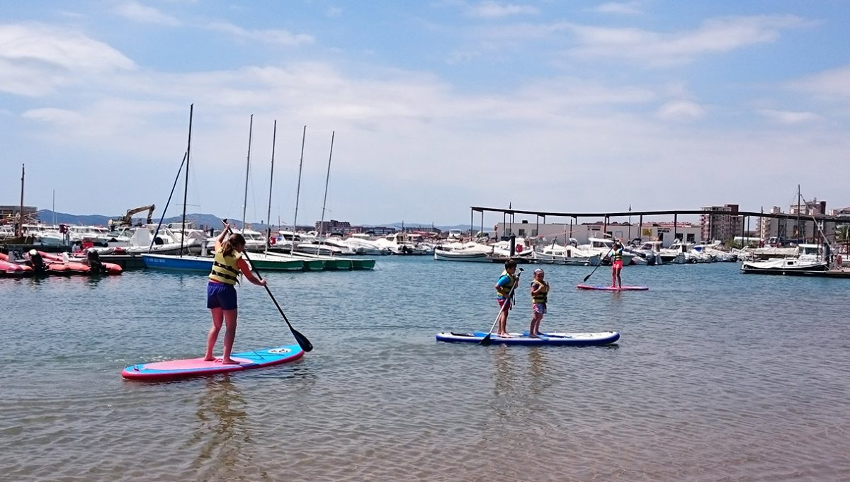 paddle surf estartit