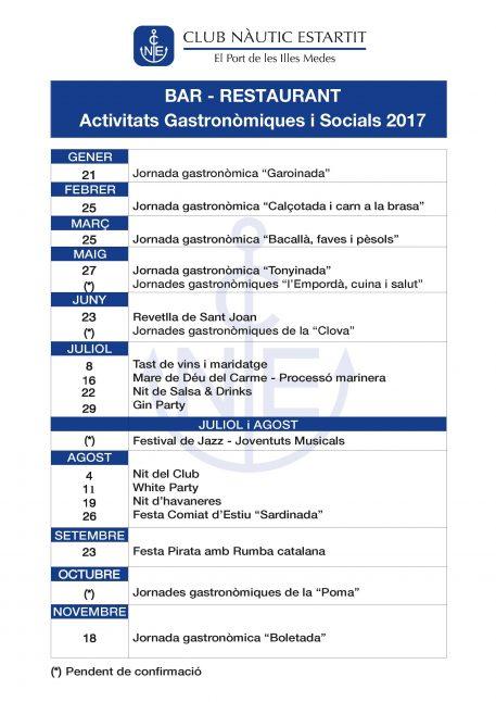 calendari anual bar