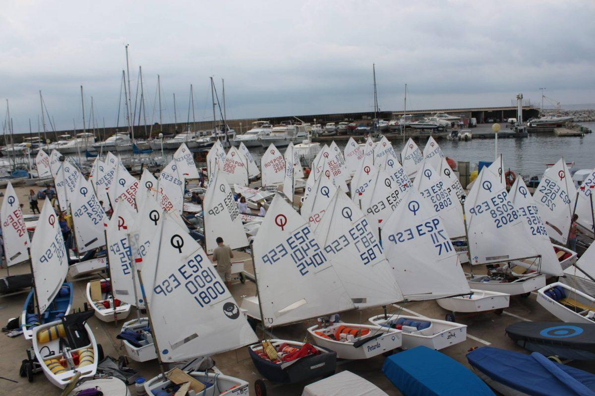 Setmana_catalana_vela_club_nautic_masnou_classe_optimist