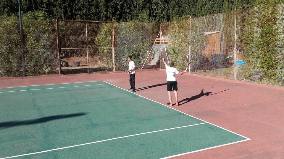 tres dels equips de tennis del club han disputat la segona jornada de lliga