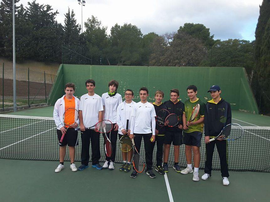 Escola de tennis equip cadet