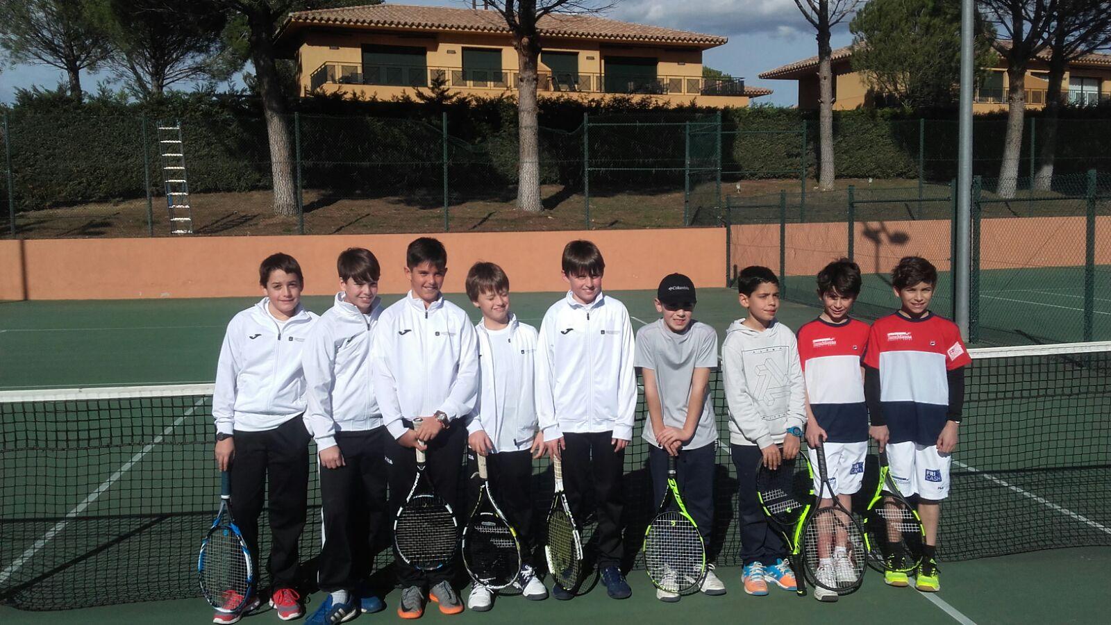 lliga catalana tenis alevins