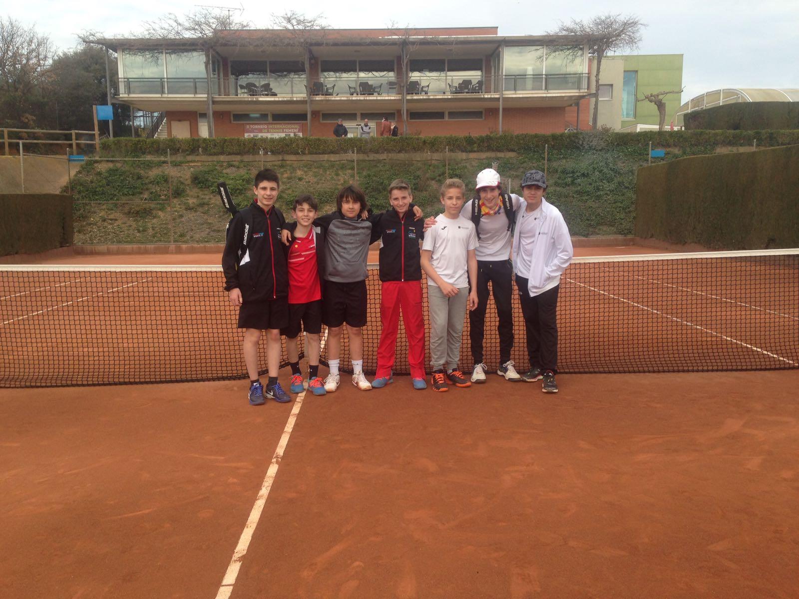 lliga catalana de tennis infantils