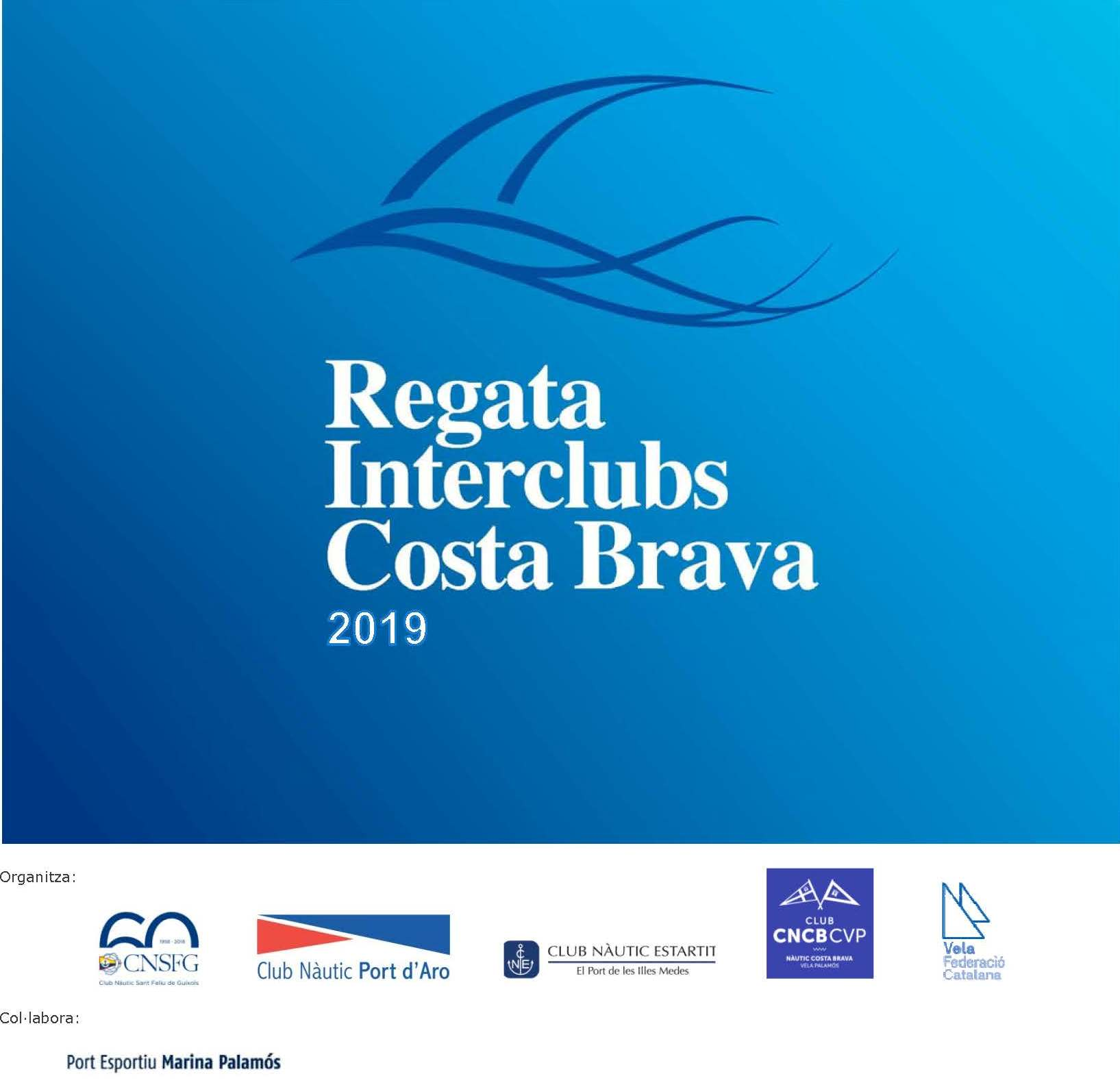 Cartell Interclubs Costa Brava 2019 - logo