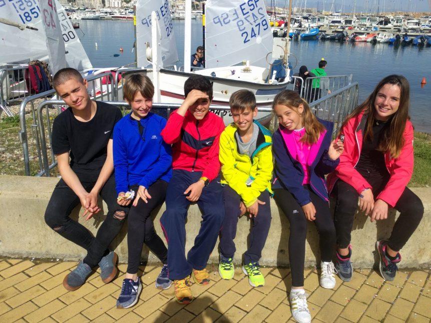 Campionat_catalunya_classe_optimist_equip